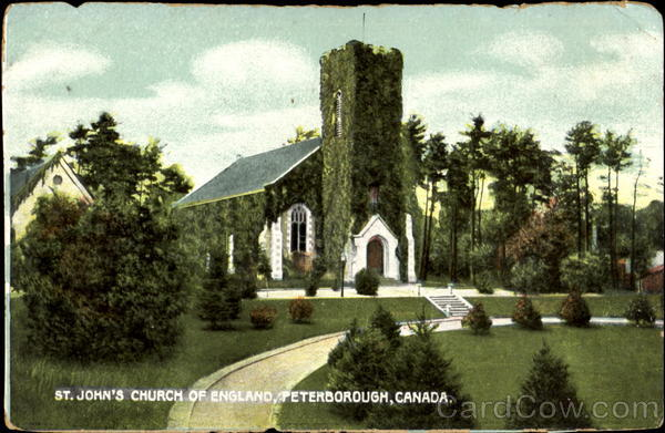 St. John's Church Of England Peterborough Canada Misc. Canada