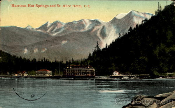 Harrison Hot Springs And St. Alice Hotel Canada British Columbia