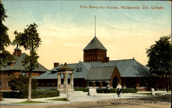 Pere Marquette Station Walkerville Ontario Canada