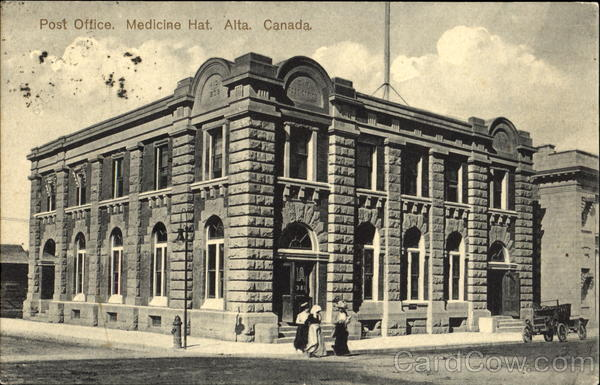 Post Office Madicine hat Canada Alberta