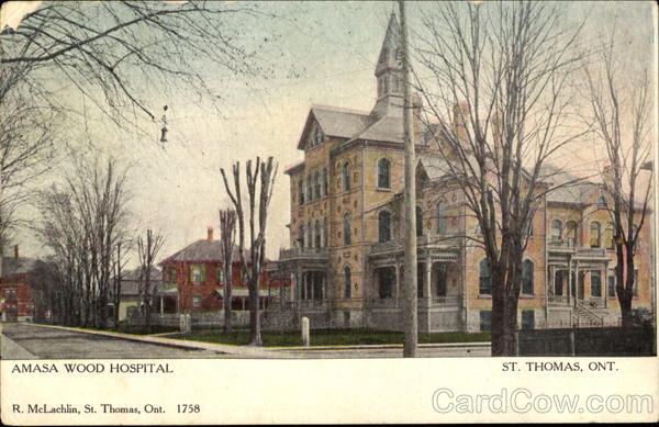 Saint Thomas (ON) Canada  city pictures gallery : Amasa Wood Hospital St. Thomas, ON Canada