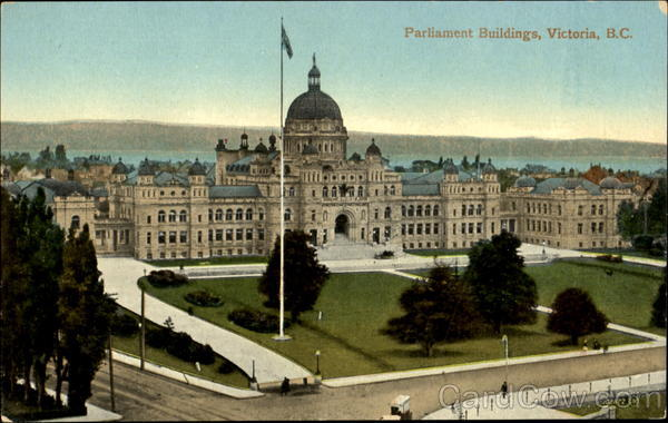 Parliament Buildings Victoria Canada British Columbia
