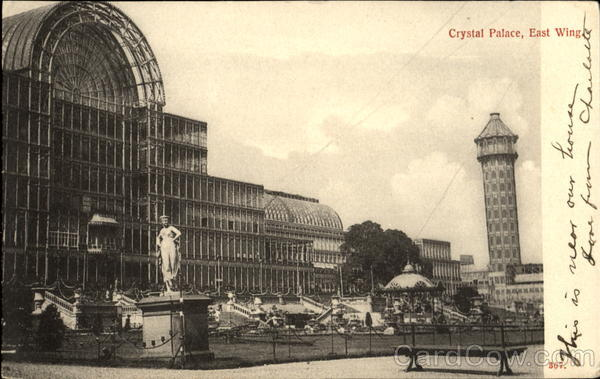 Crystal Palace East Wing London England