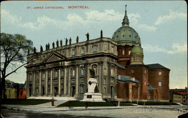 St. James Cathedral Montreal Canada Quebec