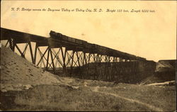 N. P. Bridge Across The Sheyenne Valley