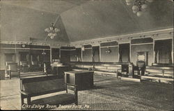 Elks Lodge Room