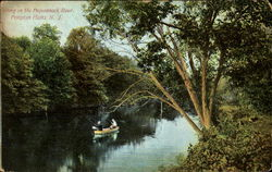 Fishing On The Pequannock River
