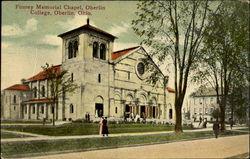 Finney Memorial Chapel, Oberlin College Postcard
