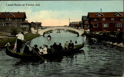 Canal Scene At Venice