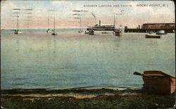 Steamer Landing And Yachts