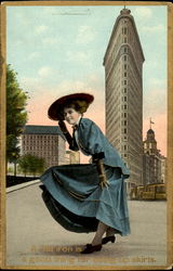 A Flat Iron Is A Good Ming For Doing Up Skirts Postcard