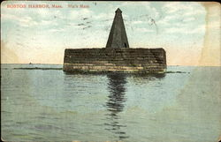 Nix's Mate, Boston Harbor Postcard