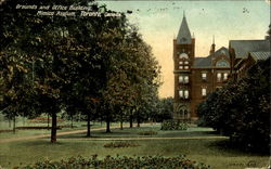 Grounds And Office Building, Mimico Asylum