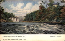 Ragged Rapids And Power Plant