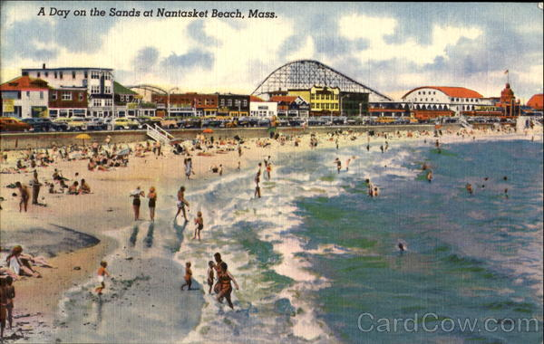 A Day On The Sands Nantasket Beach Massachusetts Amusement Parks