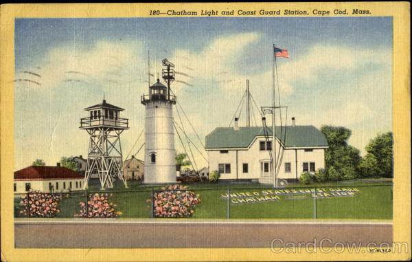 Chatham Light And Coast Guard Station Cape Cod Massachusetts