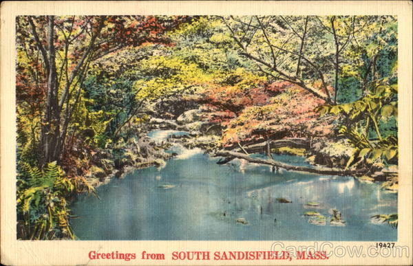 Greetings From South Sandisfield Massachusetts