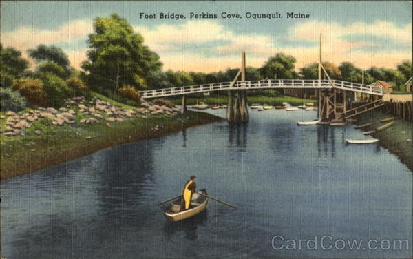 Foot Bridge, Perkins Cove Ogunquit Maine