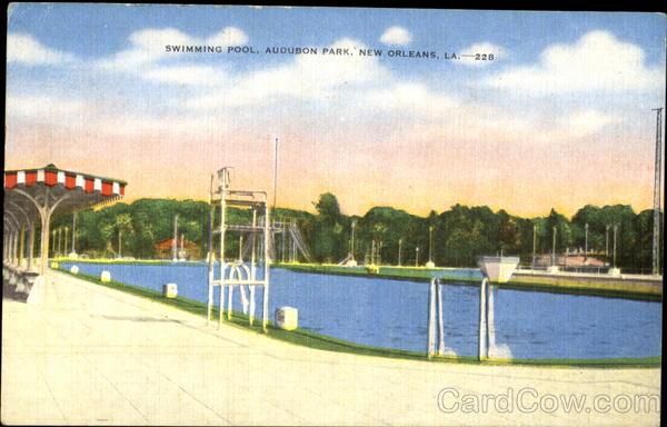 Swimming Pool Audubon Park New Orleans La