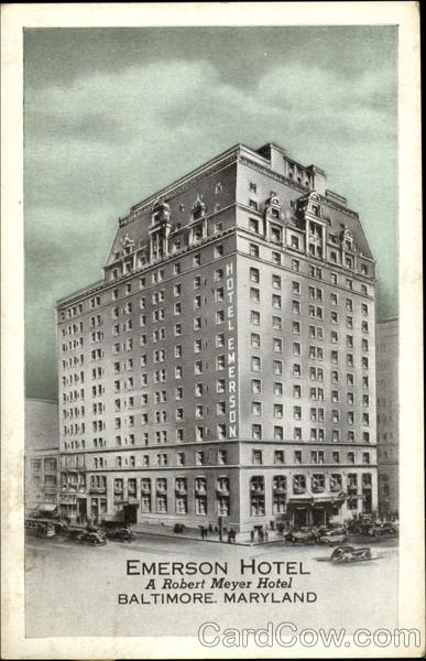 Emerson Hotel Baltimore Maryland