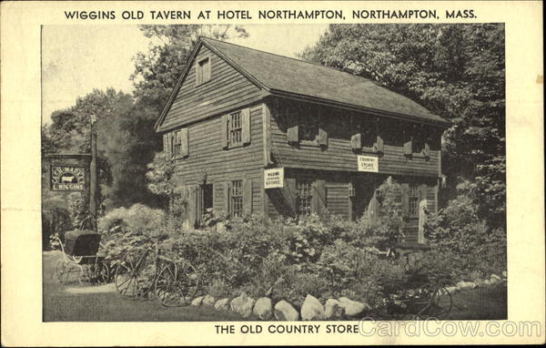Wiggins Old Tavern At Hotel Northampton Massachusetts