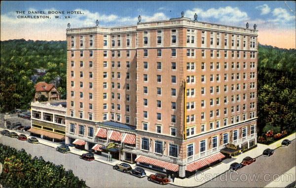 The Daniel Boone Hotel Charleston West Virginia