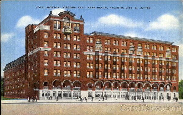 Hotel Morton Virginia Ave Atlantic City Nj