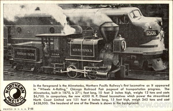 Northern Pacific Railways Trains, Railroad