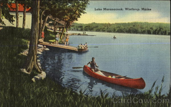 Lake Maranacook Winthrop Maine