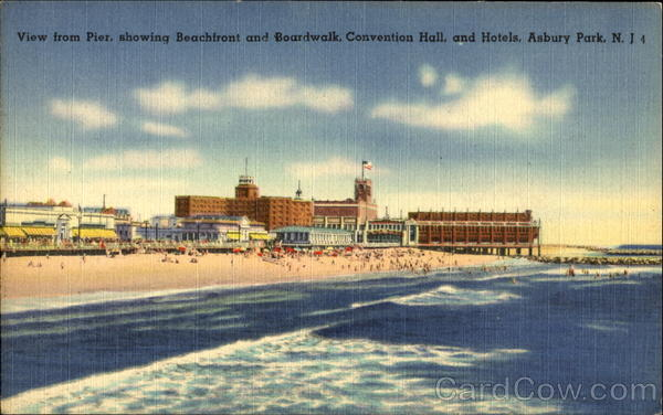 View From Pier Asbury Park New Jersey