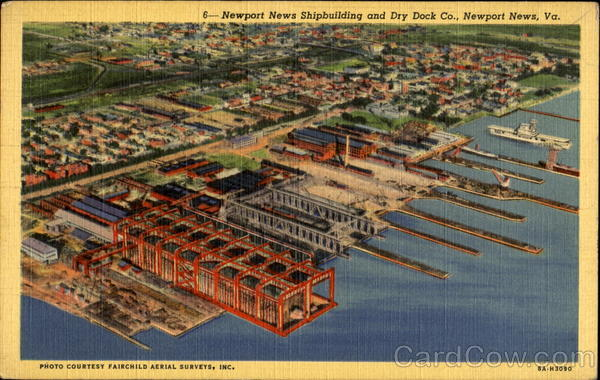 Newport News Shipbuilding And Dry Dock Co. Virginia