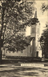 St. Patrick's R. C. Church Postcard