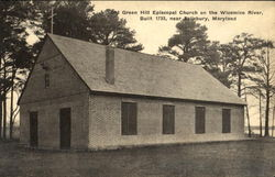 Old Green Hill Episcopal Church On The Wicomico River
