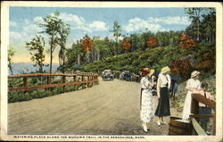 Watering Place Along The Mohawk Trail