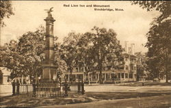 Red Lion Inn And Monument