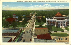 Bird's Eye View Of Ryan Street, Pujo Street