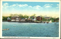 The Harbor View Hotel Postcard
