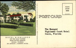 Hotel Highlands On The Golf Course, Silver Springs