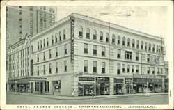 Hotel Andrew Jackson, Corner Main And Adams Sts Postcard
