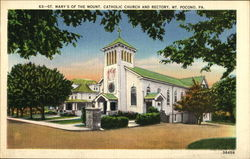 St. Mary's Of The Mount Catholic Church And Rectory