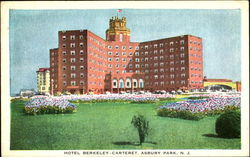 Hotel Berkeley Carteret Postcard