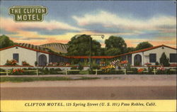 The Clifton Motel, 125 Spring Street U. S. 101