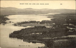 Brandy Pond And Long Lake Postcard