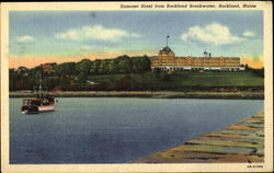 Samoset Hotel From Rockland Breakwater
