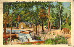 Water Falls At Camp Baxter