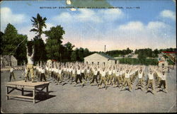 Setting Up Exercises, Fort McClellan