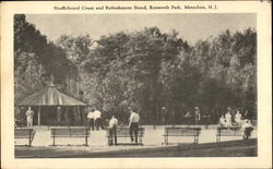 Shuffleboard Court And Refreshment Stand, Roosevelt Park