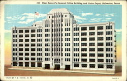 New Santa Fe General Office Building And Union Depot