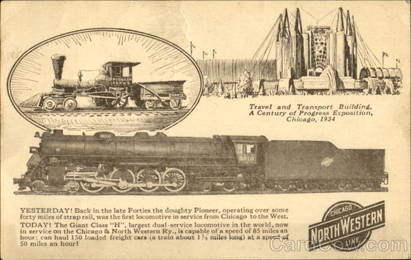 The Chicago & North Western Ry Trains, Railroad