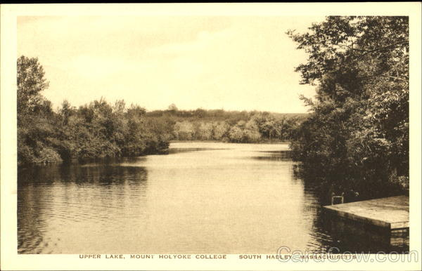 Upper Lake, Mount Holyoke College South Hadley Massachusetts